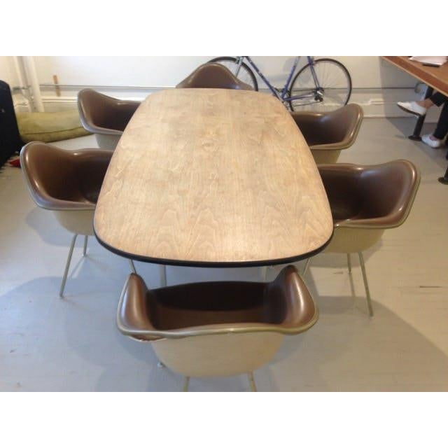 Mid-Century Modern 1960s Mid-Century Eames Conference or Dining Set For Sale - Image 3 of 8