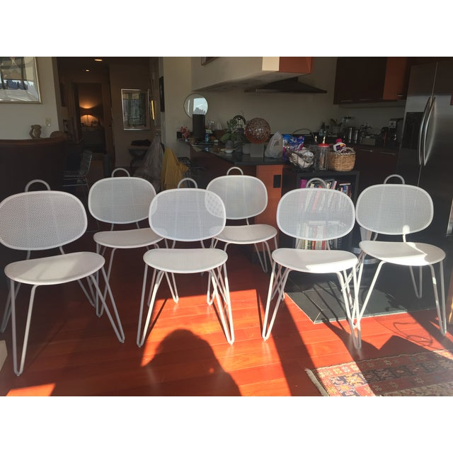 Paola Navone Italian Dining Chairs - Set of 6 - Image 2 of 7