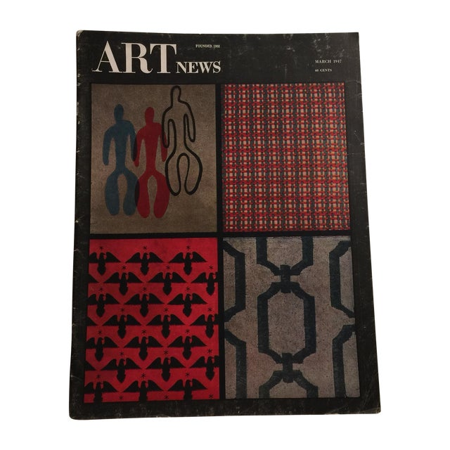 Artnews March 1947 Magazine - Image 1 of 11