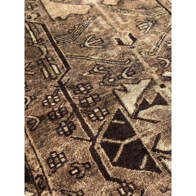 Textile 1940s Vintage Persian Hamadan Runner Rug - 3′3″ × 10′ For Sale - Image 7 of 13