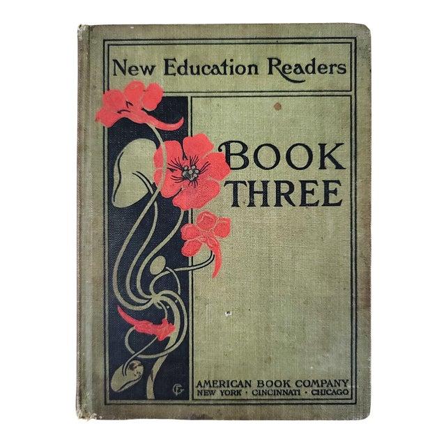 1901 Antique School Book For Sale