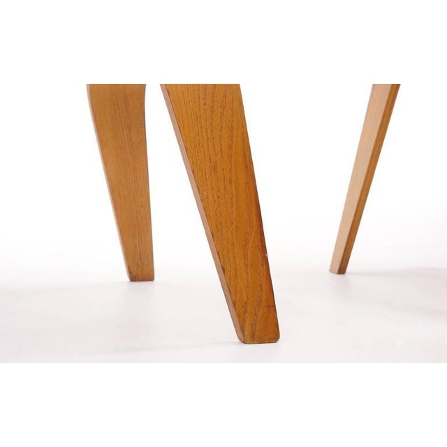 Set of Four Vintage Eames DCWS Add Our Red Eames Dining Chairs to Make Six For Sale - Image 10 of 10