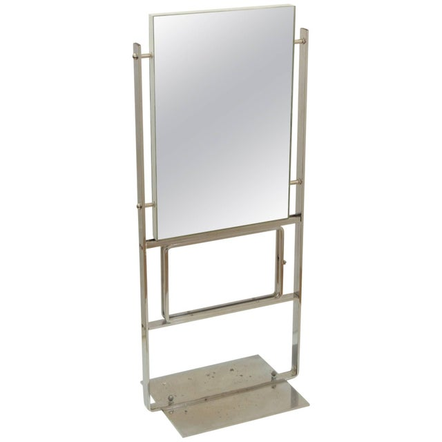 Metal Double-Sided Deco Display Mirror For Sale - Image 7 of 7