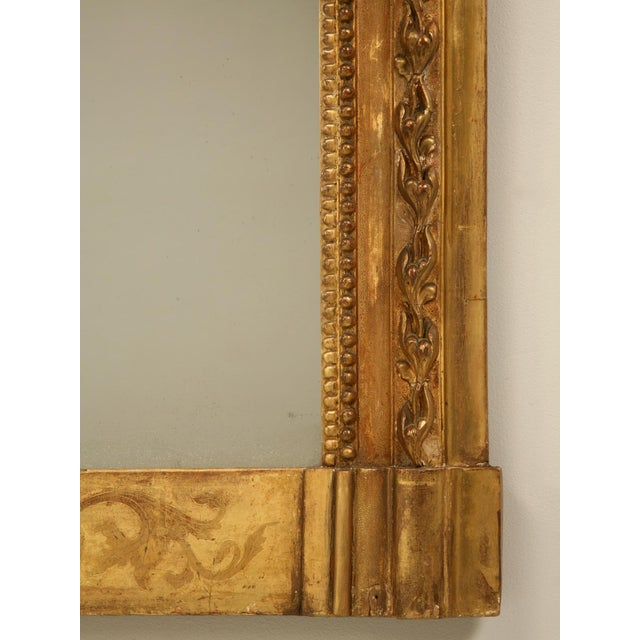 Antique French Gilded Mirror, 1800s For Sale - Image 9 of 11