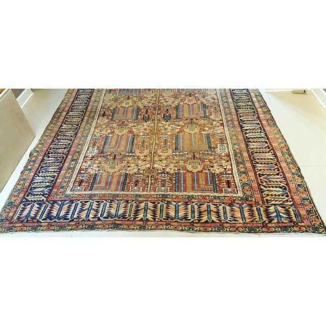Antique Islamic Heriz Persian Rug - 9′ × 12′ - Image 3 of 10