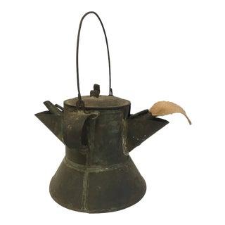 Antique Whale Oil Lamp For Sale