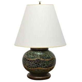 Arts + Crafts Mosaic Table Lamp