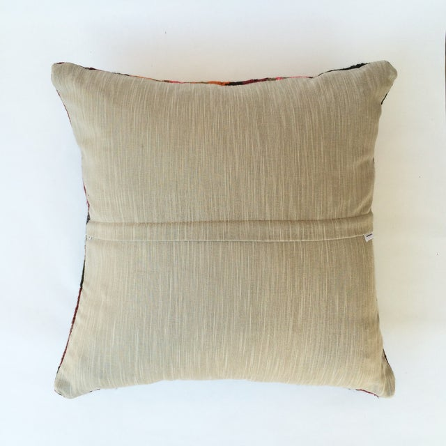 Turkish Kilim Pillow - Image 3 of 3
