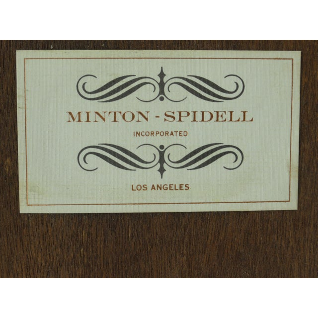 1980s Traditional Minton-Spidell Game Table For Sale - Image 9 of 10