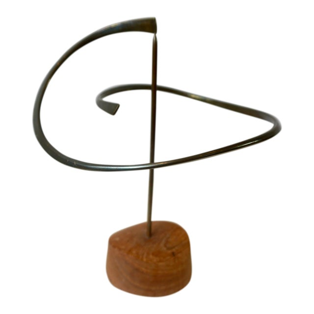 Kinetic Bronze Sculpture by Russell Secrest For Sale