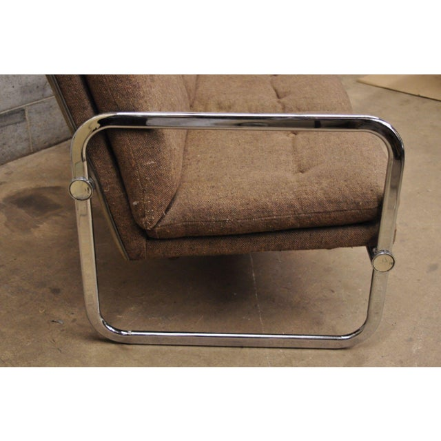 1970s Milo Baughman Style Sofa by United Chair For Sale - Image 5 of 12