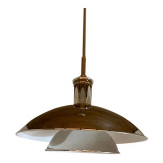 Contemporary Visual Comfort Whitman Pendant Light With Shade For Sale
