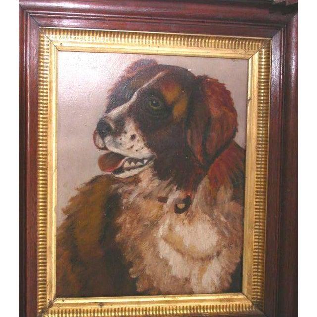 Portrait of a Saint Bernard - Image 5 of 6