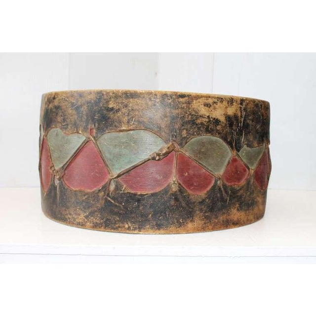 Pueblo de Cochiti Ceremonial Drum For Sale In Los Angeles - Image 6 of 8