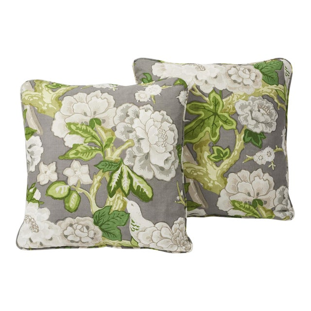 Inspired by a document print, Schumacher's Bermuda Blossoms is a billowing floral that makes a bold statement. This...