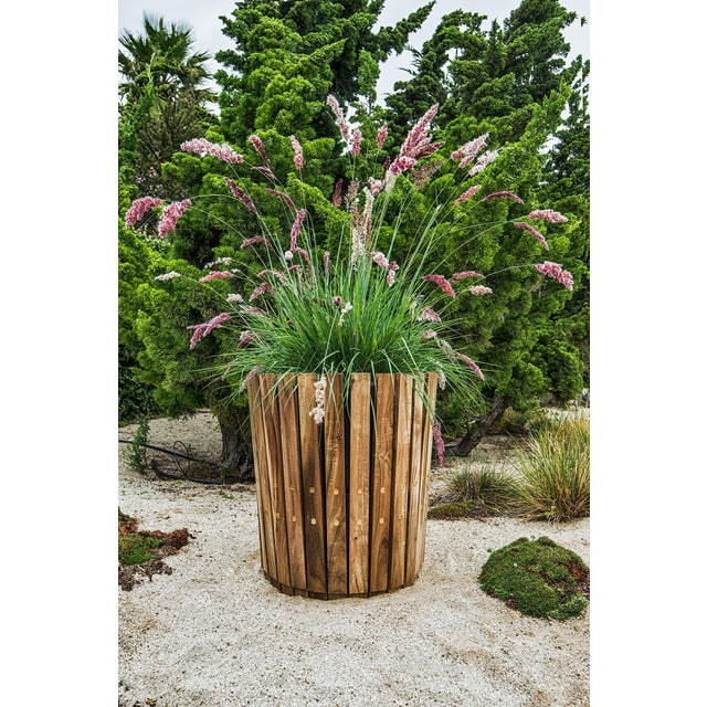 Customizable Plantum American Hardwood Modular Planter Cover - Image 6 of 7