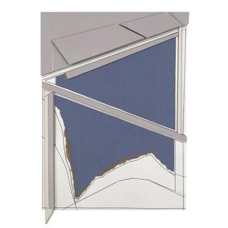 "Ryan Sarah Murphy ""Hema 1"" Abstract Collage For Sale"