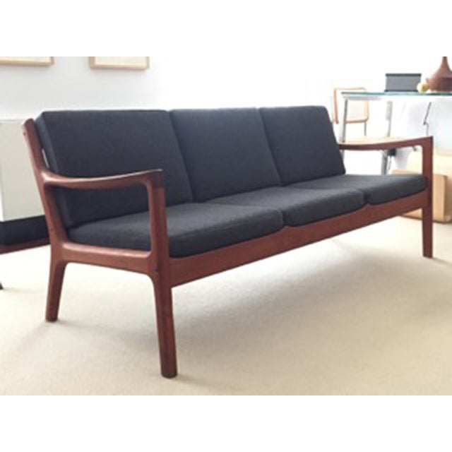 Ole Wanscher Teak 3-Seat Sofa - Image 2 of 7