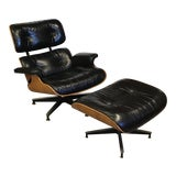Image of Vintage Original Herman Miller Eames Lounge Chair and Ottoman For Sale