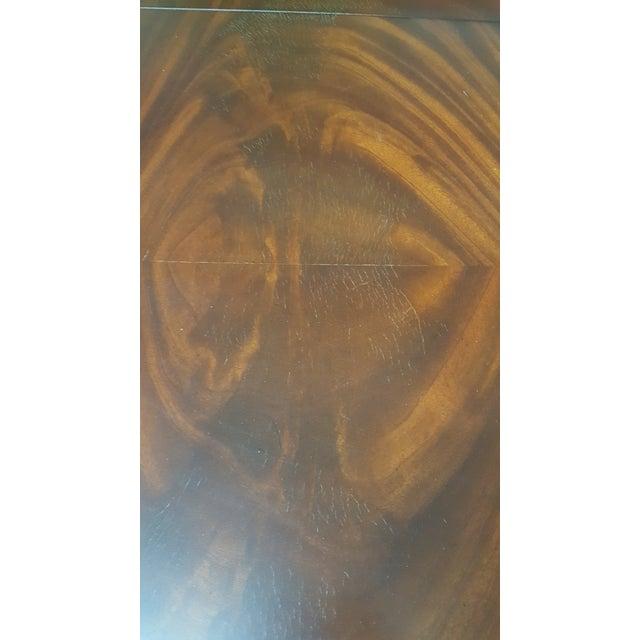 Mahogany Maitland Smith Mahogany Pembroke Table For Sale - Image 7 of 12