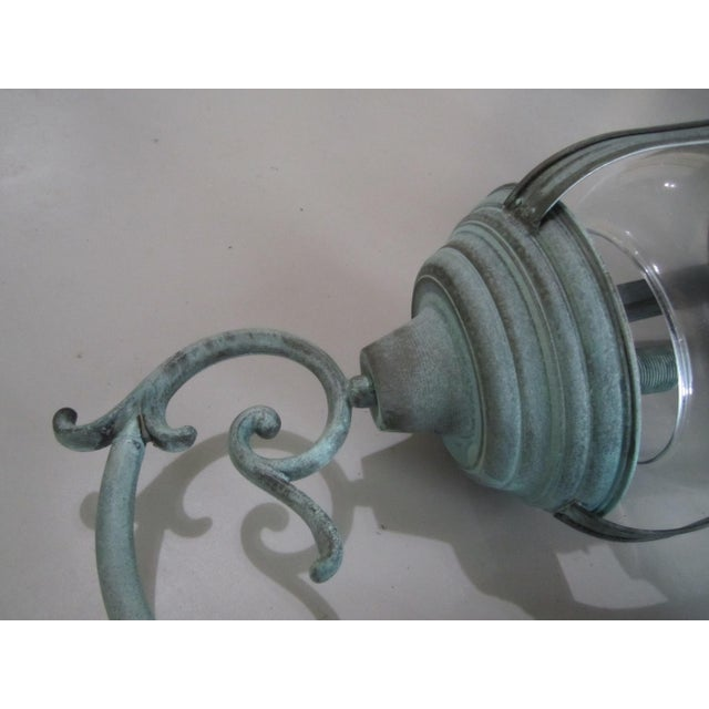 Handcrafted French Country Wall Lantern - A Pair - Image 3 of 10