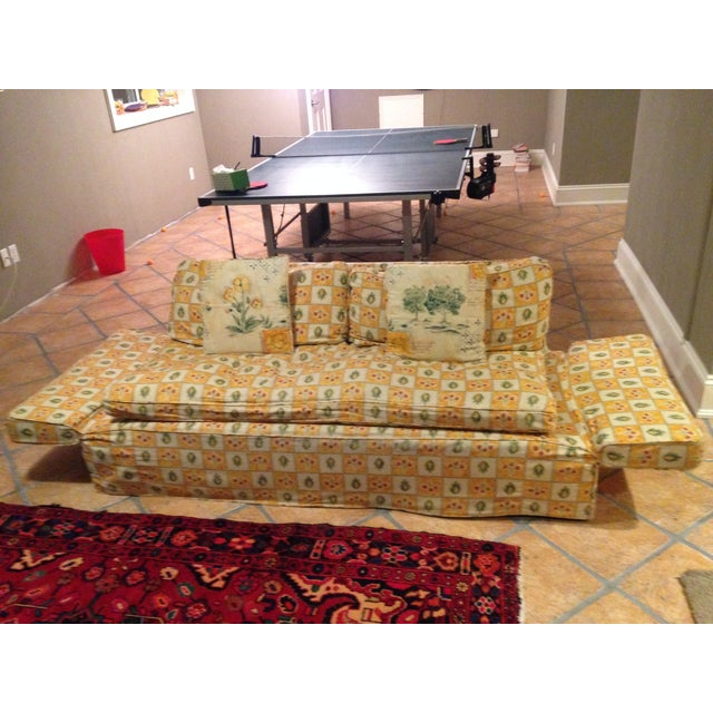 Down Filled Twin Size Sleeper Sofa - Image 7 of 11