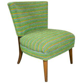 Midcentury Modern Slipper Chair For Sale