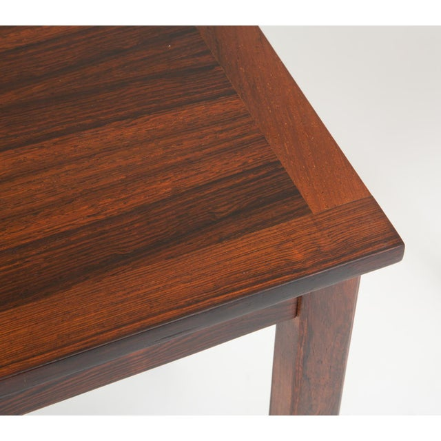 Danish Modern Rosewood Nesting Tables - Set of 3 For Sale - Image 11 of 12