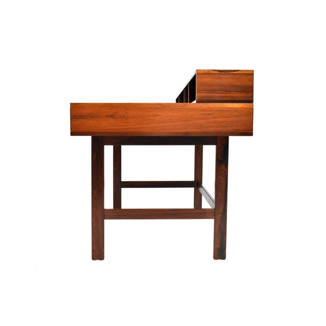 Danish Modern Rosewood Desk by Peter Løvig Nielsen for Dansk - Image 3 of 11