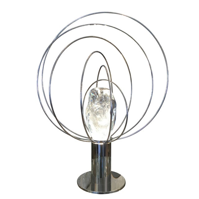 """1960s Customizable """"Barnaba"""" Table Lamp by Angelo Brotto for Esperia For Sale - Image 5 of 7"""