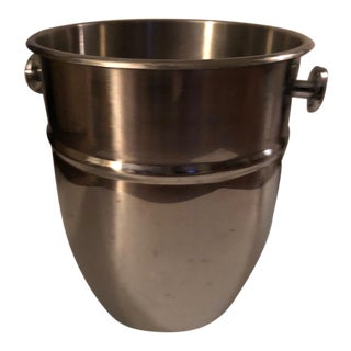 Vintage Stainless Steel Champagne Ice Bucket
