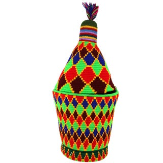Extra Large Joker Moroccan Berber Basket