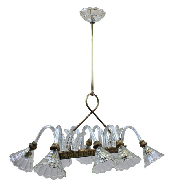 Traditional Rectangular Barovier Light For Sale - Image 3 of 5