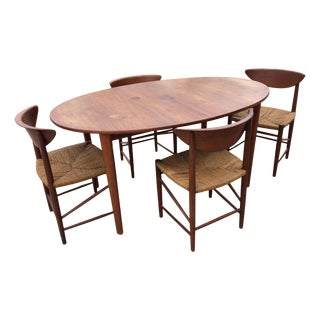Danish Mid-Century Teak Dining Set