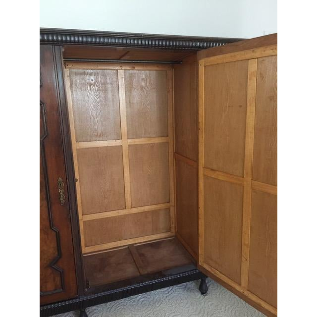 Late 19th Century 19th Century Mediterranean 3- Door Armoire For Sale - Image 5 of 11
