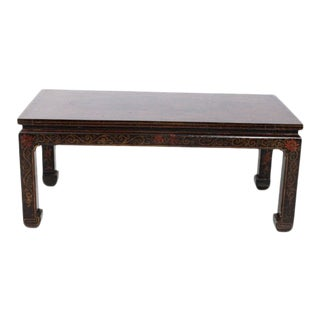 Chinese Red Coffee Table For Sale