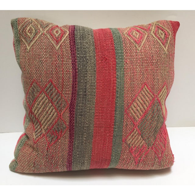 Moroccan Pastel Colors Bohemian Throw Pillows For Sale - Image 13 of 13
