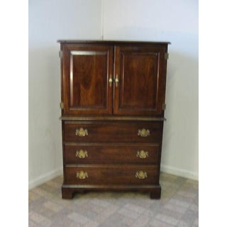Stickley Solid Cherry High Cabinet Preview
