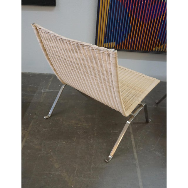 Contemporary Poul Kjaerholm Pk22 Chairs for E.Kold Christiansen - a Pair For Sale - Image 3 of 10