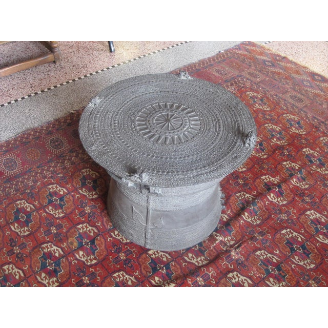 Se Asian Dong-Son Bronze Rain Drum Table - Image 5 of 10