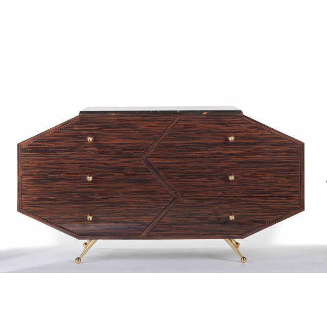 Brass Customizable BB10 SIDEBOARD For Sale - Image 7 of 8