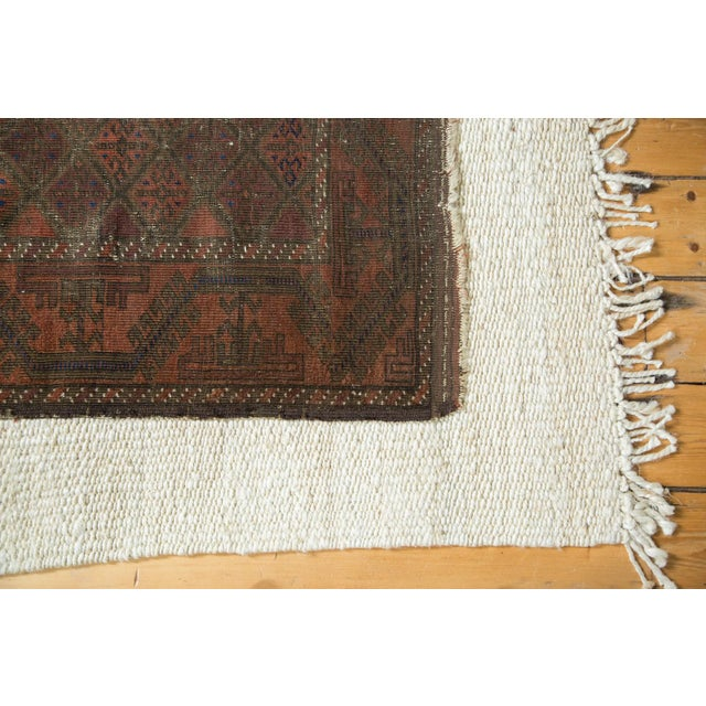 "Textile Vintage Belouch Rug - 2'10"" X 4'7"" For Sale - Image 7 of 9"