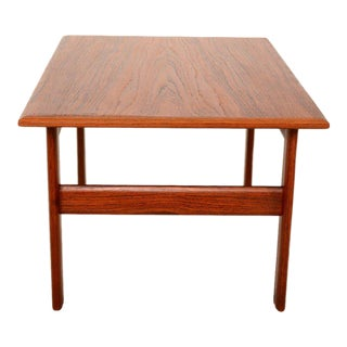 Danish Modern Teak Side Table Scandline