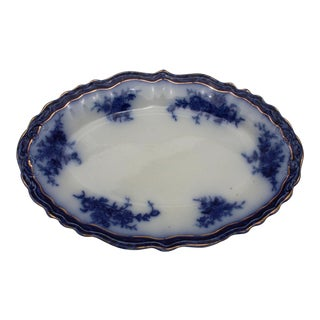 Flow Blue Decorative Platter