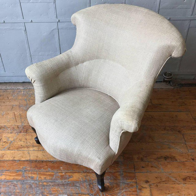 Pair of Scrolled Napoleon III Armchairs - Image 9 of 10