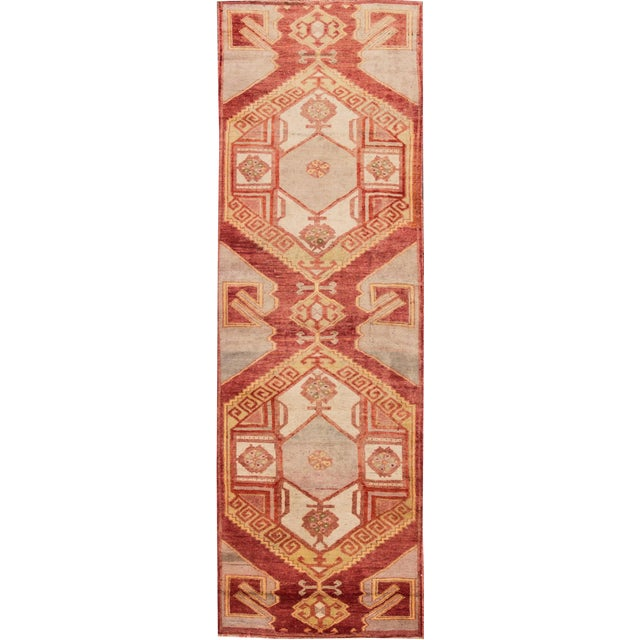 "Apadana - Vintage Turkish Anatolian Rug, 3'3"" x 10'3"" For Sale"