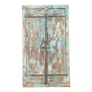 Antique Farmhouse Window Mirror For Sale