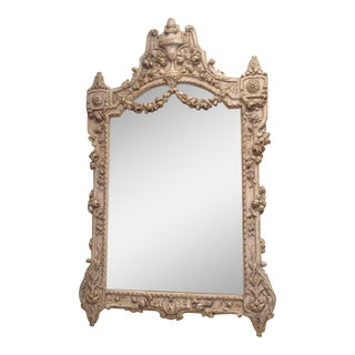 Painted Louis XVI Style Mirror For Sale