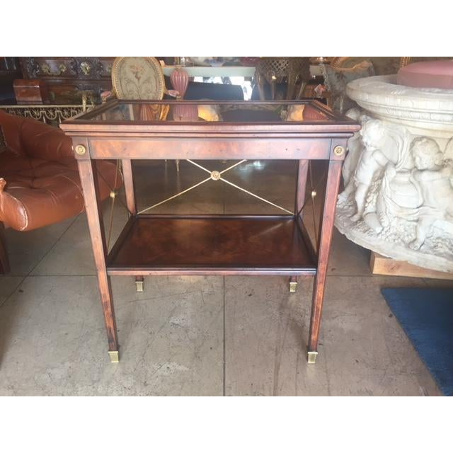 Drinks Cart Tea Table With Removable Tray Top For Sale - Image 9 of 9