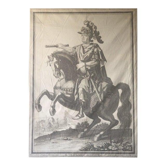 Auguste Parisian Leather Art For Sale